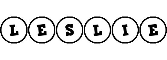 Leslie handy logo