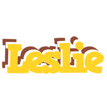 Leslie hotcup logo