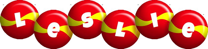 Leslie spain logo