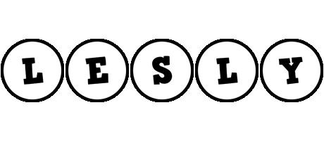 Lesly handy logo