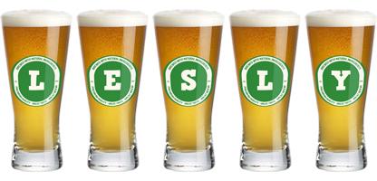 Lesly lager logo