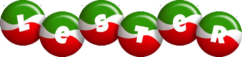 Lester italy logo