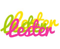 Lester sweets logo