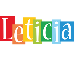 Leticia colors logo