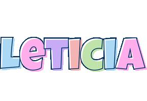 Leticia pastel logo