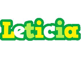 Leticia soccer logo