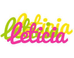 Leticia sweets logo