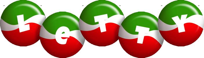 Letty italy logo