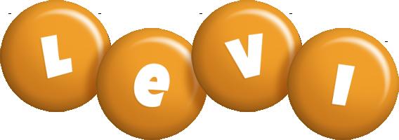 Levi candy-orange logo