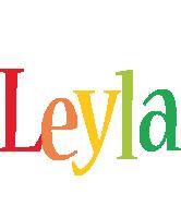 Leyla birthday logo