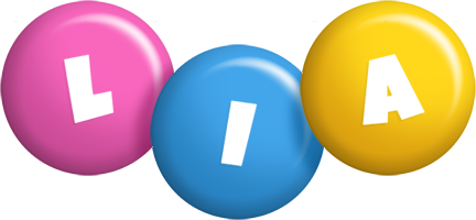 Lia candy logo