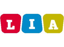Lia daycare logo