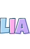Lia pastel logo