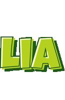 Lia summer logo