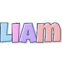 Liam pastel logo