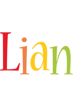 Lian birthday logo