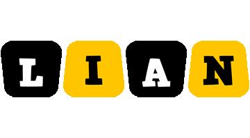Lian boots logo