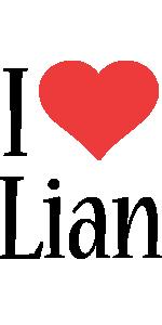 Lian i-love logo