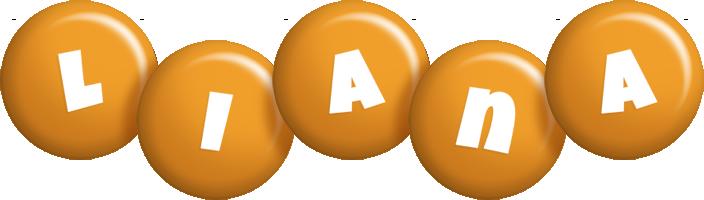 Liana candy-orange logo