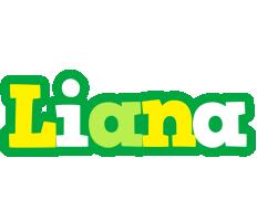 Liana soccer logo