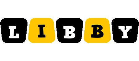 Libby boots logo
