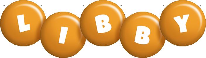 Libby candy-orange logo