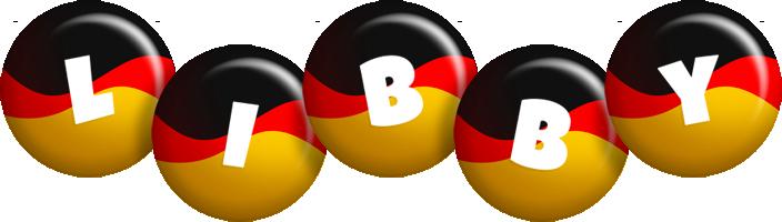 Libby german logo