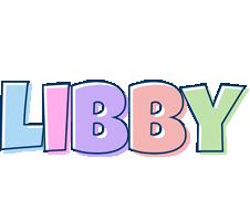 Libby pastel logo