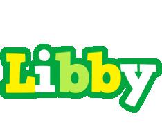 Libby soccer logo