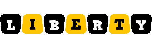 Liberty boots logo
