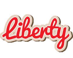 Liberty chocolate logo