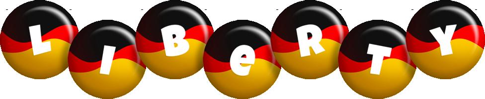 Liberty german logo