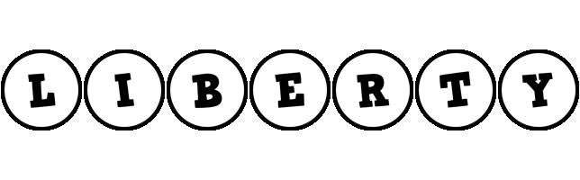 Liberty handy logo