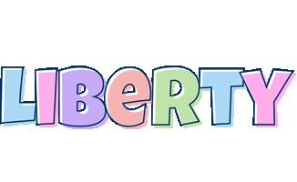 Liberty pastel logo