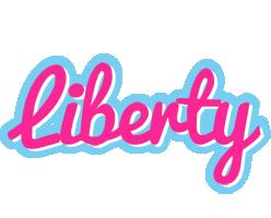 Liberty popstar logo
