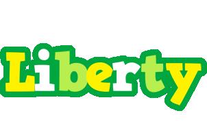 Liberty soccer logo