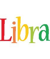 Libra birthday logo