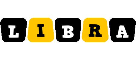 Libra boots logo
