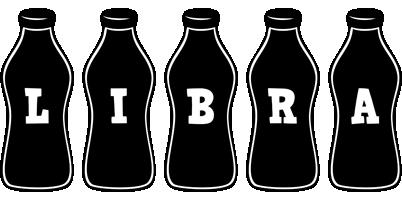 Libra bottle logo