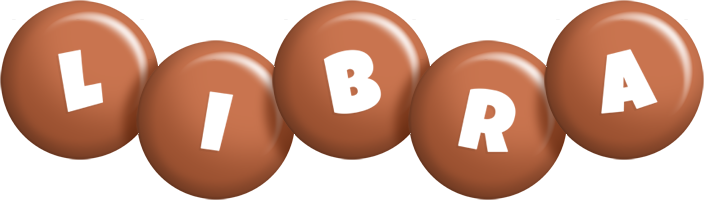 Libra candy-brown logo