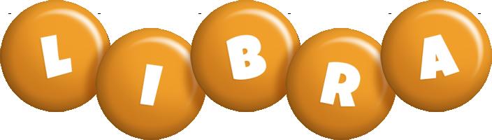 Libra candy-orange logo
