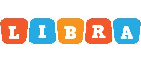 Libra comics logo