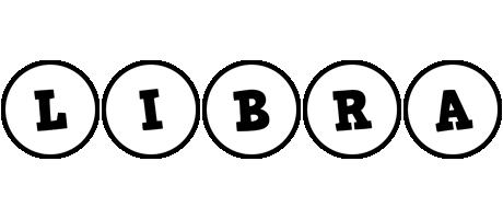 Libra handy logo
