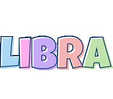 Libra pastel logo