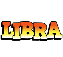 Libra sunset logo