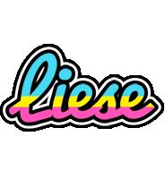 Liese circus logo