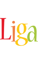 Liga birthday logo