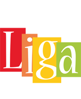 Liga colors logo