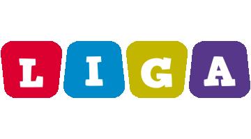 Liga daycare logo