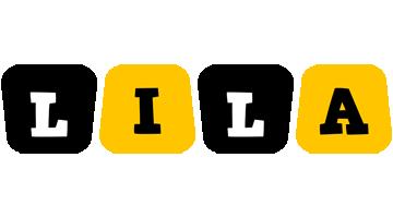 Lila boots logo